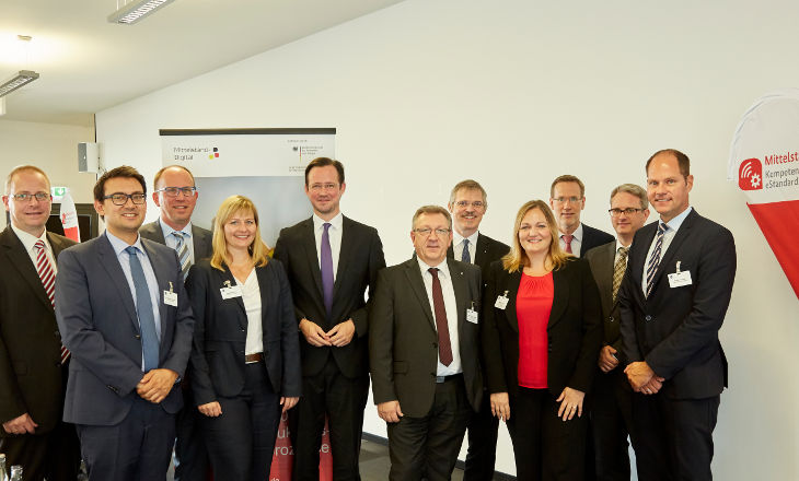 Kick-Off Mittelstand 4.0-Kompetenzzentrum eStandards