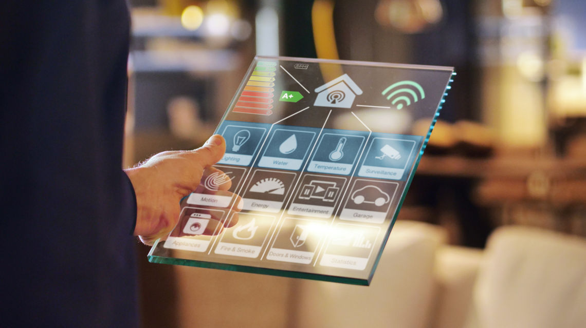 Intelligente Steuerung mit Smart Building App